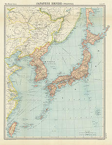 Map Of The World 1920.Japanese Empire Political Times Survey Atlas Of The World 1920