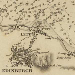 Introduction to Admiralty Charts of Scottish coasts, 1795