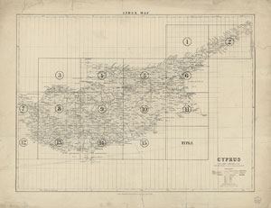 Kitchener's Survey of Cyprus, 1882 - National Library of
