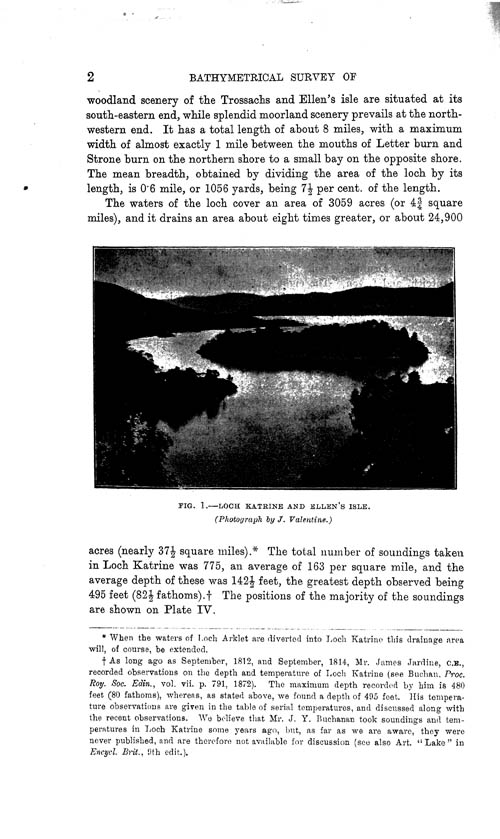 Page 2, Volume II, Part I - Lochs of the Forth Basin