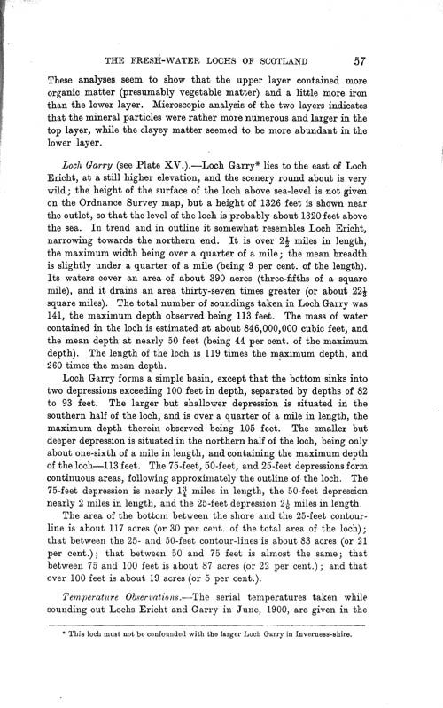 Page 57, Volume II, Part I - Lochs of the Tay Basin
