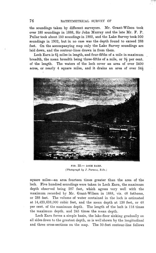 Page 76, Volume II, Part I - Lochs of the Tay Basin