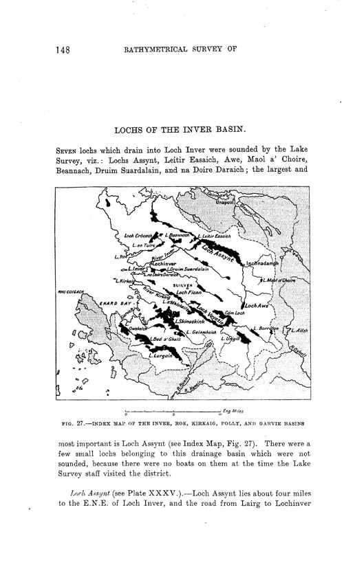 Page 148, Volume II, Part I - Lochs of the Inver Basin