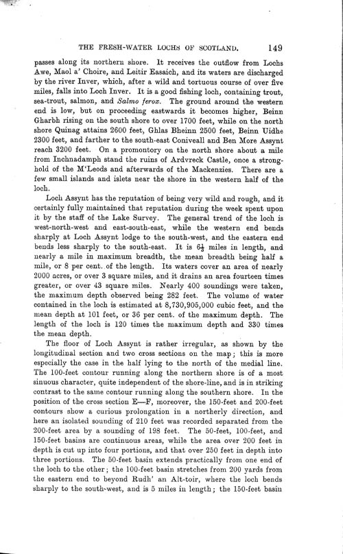 Page 149, Volume II, Part I - Lochs of the Inver Basin