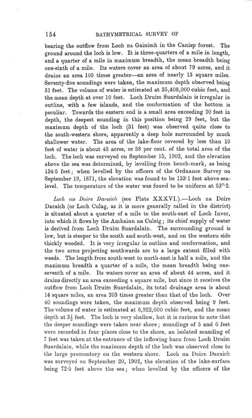 Page 154, Volume II, Part I - Lochs of the Inver Basin