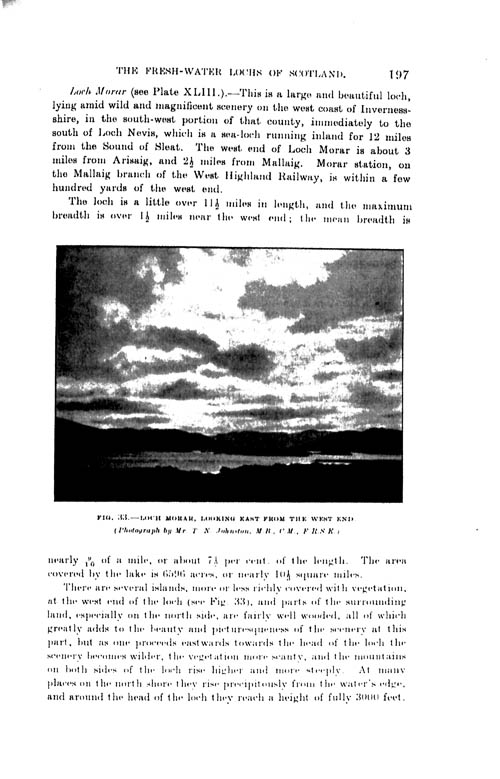 Page 197, Volume II, Part I - Lochs of the Morar Basin