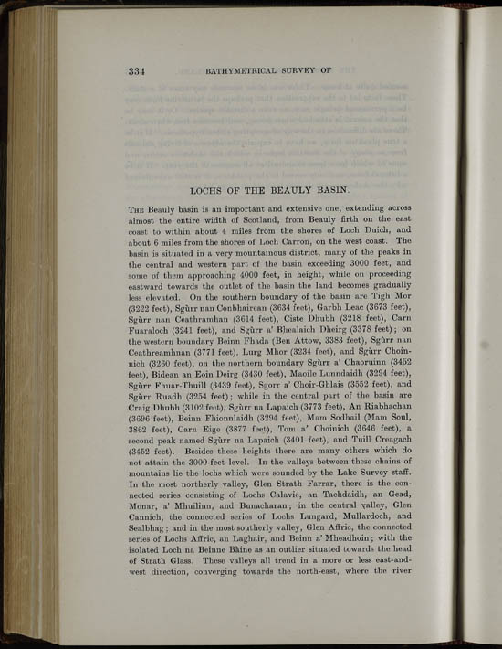 Page 334, Volume II, Part I - Lochs of the Beauly Basin