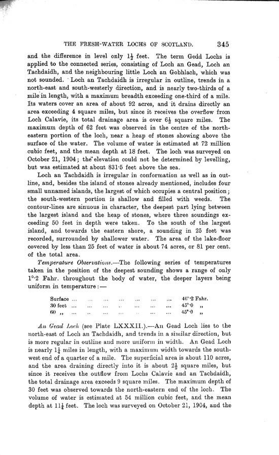 Page 345, Volume II, Part I - Lochs of the Beauly Basin