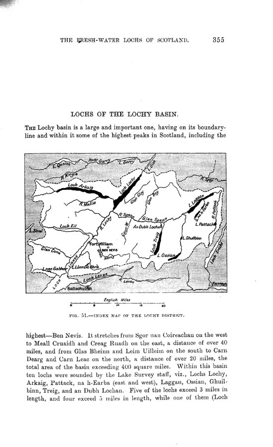 Page 355, Volume II, Part I - Lochs of the Lochy Basin
