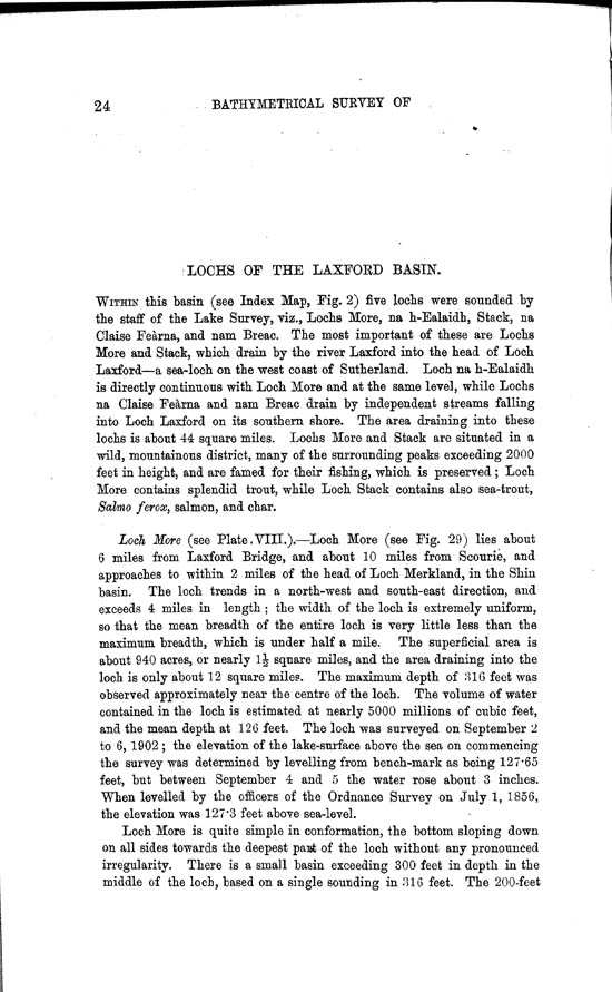 Page 24, Volume II, Part II - Lochs of the Laxford Basin