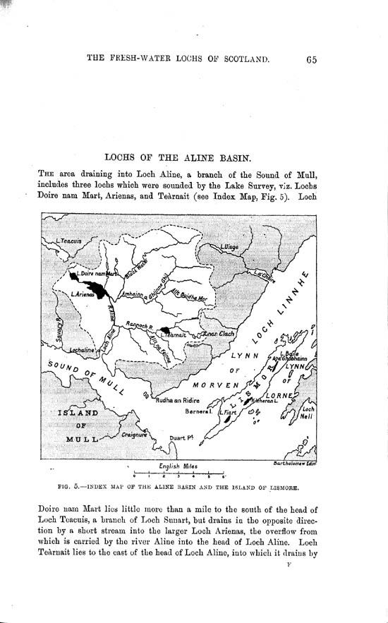 Page 65, Volume II, Part II - Lochs of the Aline Basin