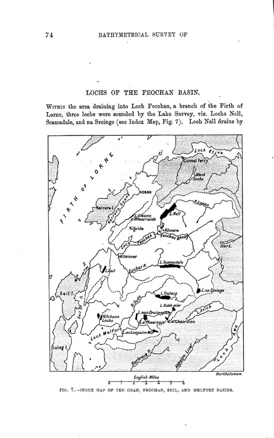 Page 74, Volume II, Part II - Lochs of the Feochan Basin