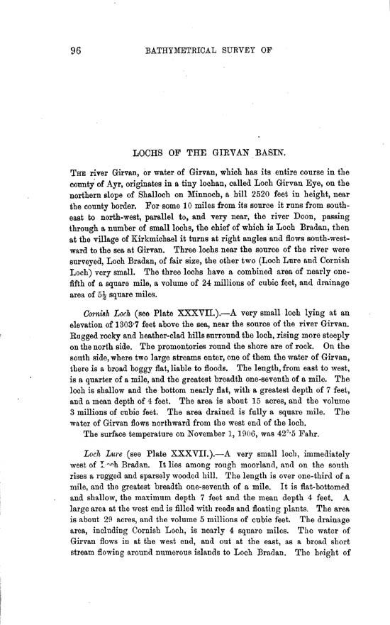 Page 96, Volume II, Part II - Lochs of the Girvan Basin