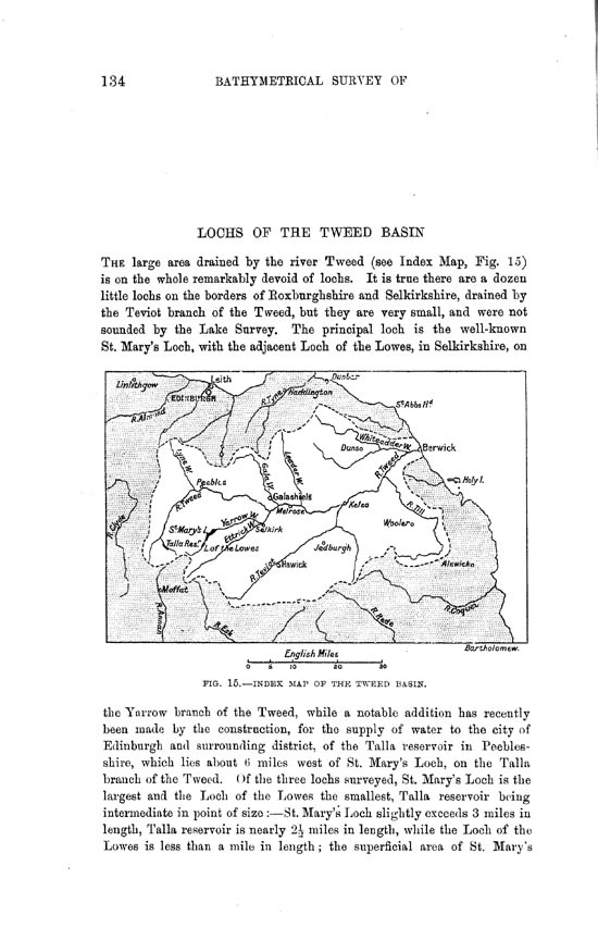 Page 134, Volume II, Part II - Lochs of the Tweed Basin