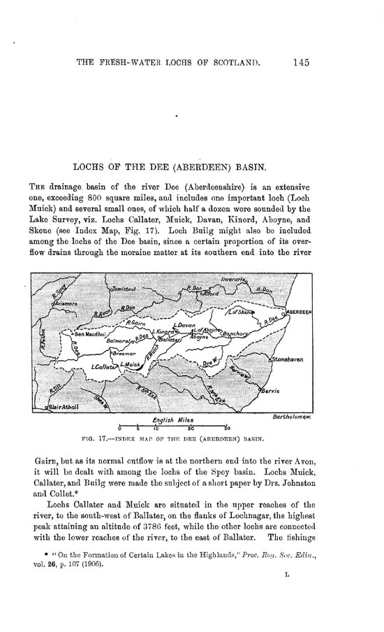 Page 145, Volume II, Part II - Lochs of the Dee (Aberdeen) Basin