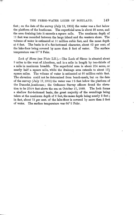 Page 149, Volume II, Part II - Lochs of the Dee (Aberdeen) Basin