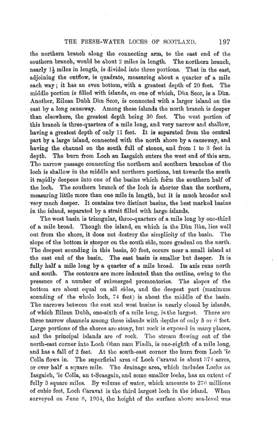 Page 197, Volume II, Part II - Lochs of North Uist