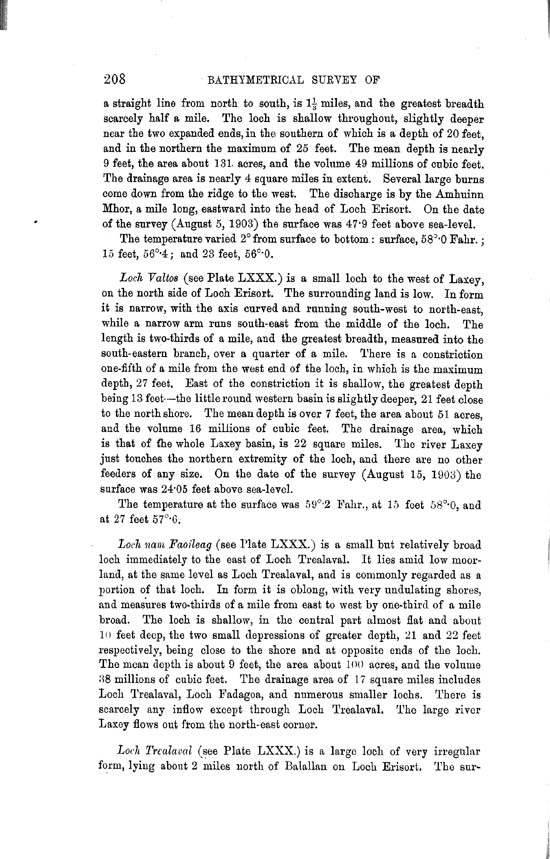 Page 208, Volume II, Part II - Lochs of Lewis