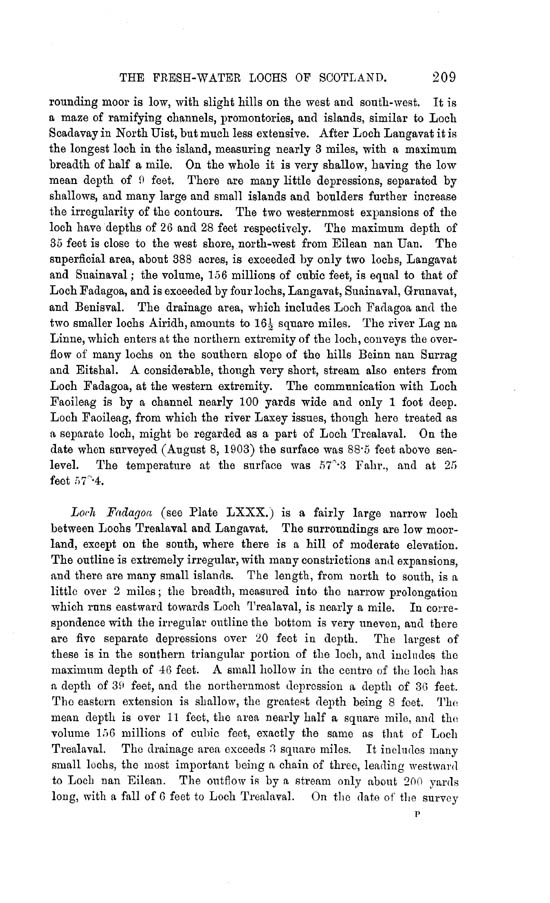 Page 209, Volume II, Part II - Lochs of Lewis
