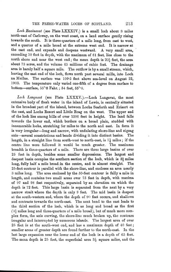 Page 213, Volume II, Part II - Lochs of Lewis
