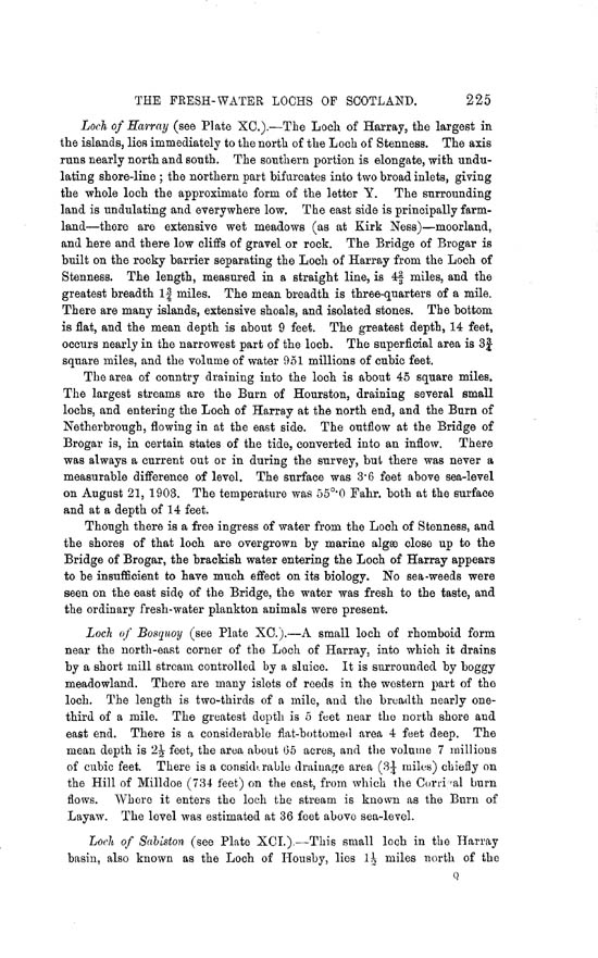 Page 225, Volume II, Part II - Lochs of Orkney