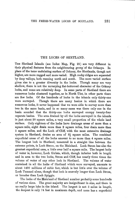 Page 231, Volume II, Part II - Lochs of Shetland