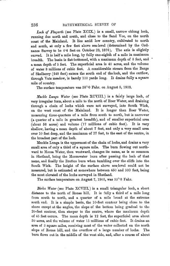 Page 236, Volume II, Part II - Lochs of Shetland