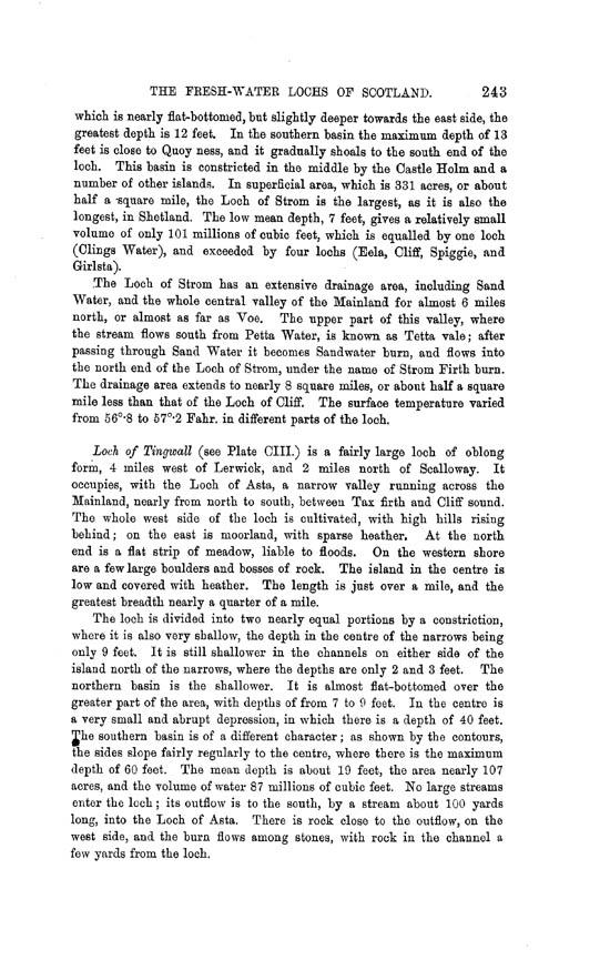 Page 243, Volume II, Part II - Lochs of Shetland