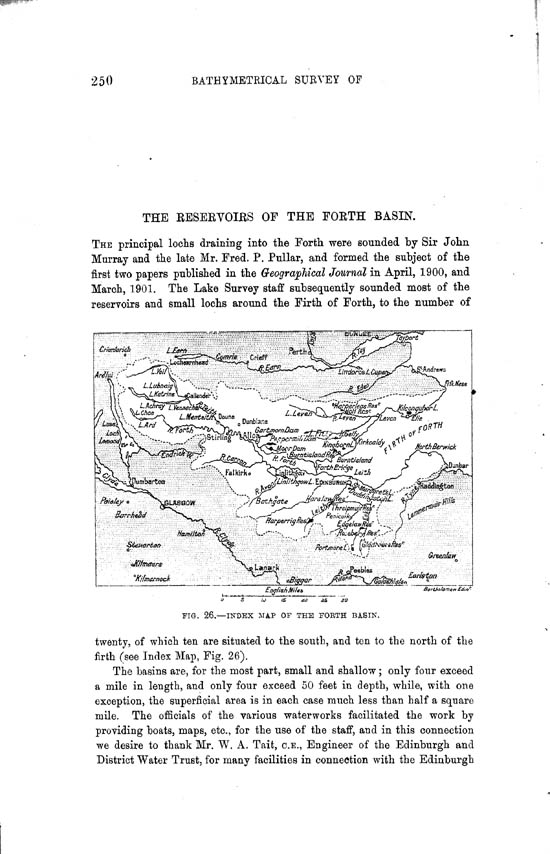 Page 250, Volume II, Part II - Reservoirs of the Forth BAsin