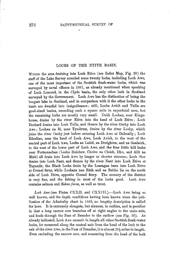 Page 270, Volume II, Part II - Lochs of the Etive Basin