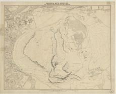 Orographical Map Of Arthur S Seat From Bartholomew S Reduced