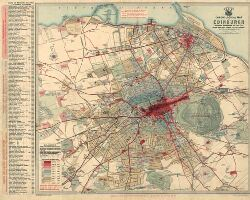 Chronological map of Edinburgh showing expansion of the City from ...