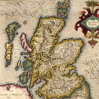 Maps of Scotland graphic