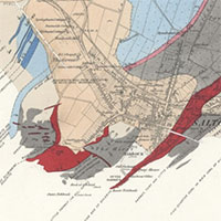 Geological Survey of Scotland, One-Inch and Six-Inch to the Mile maps, 1850s-1940s graphic