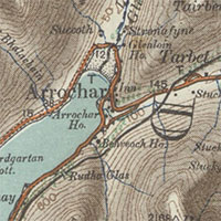 Ordnance Survey Half-Inch to the mile graphic