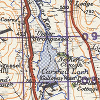 Ordnance Survey One-Inch to the Mile Maps of Scotland, 1930s-1940s