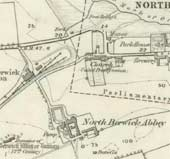 Details on North Berwick map