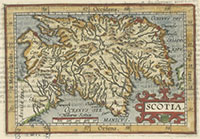New printed maps of Scotland, 1560s-1940s graphic