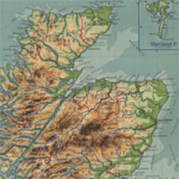 Maps of Scotland by commercial map-makers, 1840s-1940s