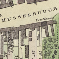 New town plans of Scotland, 1580s-1940s graphic