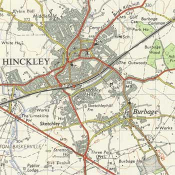 Ordnance Survey Oneinch to the mile maps of Great Britain