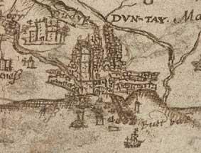 Pont maps of Scotland ca 15831614 Revealing Scotlands