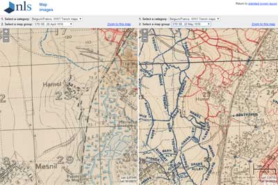 Ww1 Trench Maps British First World War Trench Maps, 1915 1918   National Library